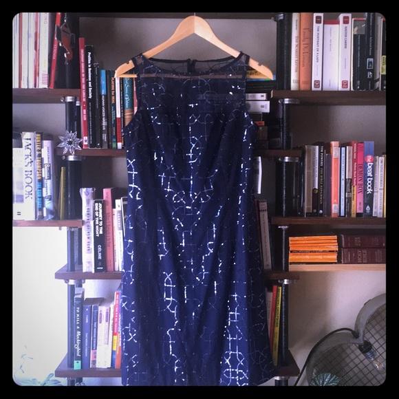 American Living Dresses & Skirts - Sparkle navy blue cocktail dress